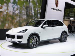 El Porsche Cayenne S E-Hybrid, listo para París