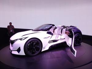 Peugeot Fractal Concept, un gigantesco equipo de audio rodante
