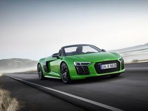 Audi R8 V10 Spyder Plus, un verdadero rayo verde