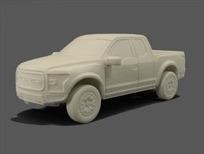 Ahora puedes imprimir en 3D tu Ford favorito