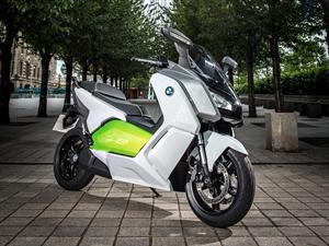BMW Electric C Evolution Scooter tiene un nuevo equipamiento