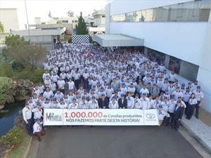 Toyota llegó al millón de Corollas fabricados en Brasil
