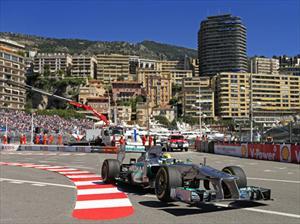 F1: Nico Rosberg y Mercedes-Benz los mejores en Mónaco
