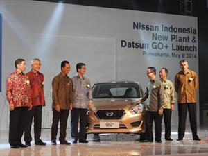 Datsun GO+, novedad en el mercado de Indonesia