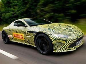 El nuevo Aston Martin Vantage comienza a rodar