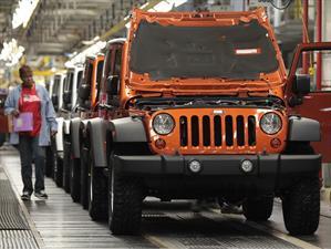 Jeep planea fabricar 2 millones de vehículos en 2018