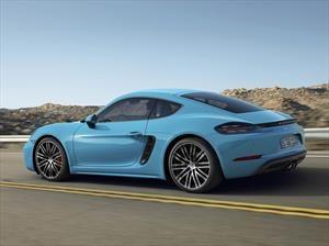 El Cayman completa la familia del Porsche 718