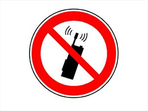 ¡Concentrate en el volante, no en el teléfono celular!