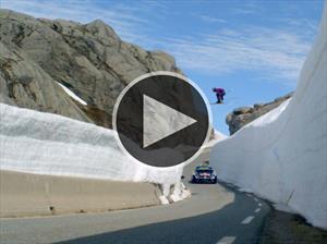 Un piloto de rally Vs un esquiador alpino ¿quién ganará?