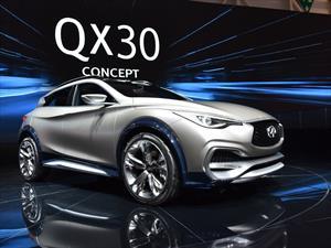 Infiniti QX30 Concept se presenta
