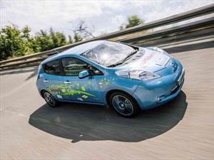 Técnicos españoles desarrollan un Nissan Leaf con 150 millas de autonomía