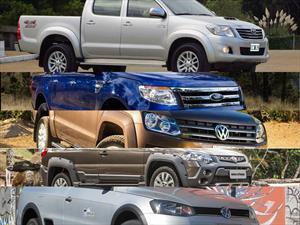 Top 5 las pick-ups más vendidas en julio de 2014