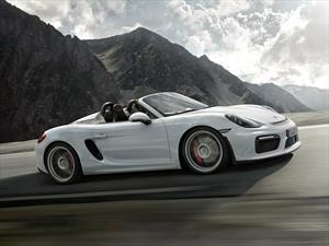 Porsche Boxster Spyder 2016, deportividad al natural