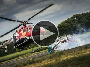 Video: Toyota GT86 contra helicóptero acrobático