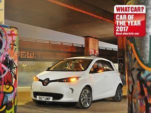 Renault Zoe es el auto eléctrico del año en Londres