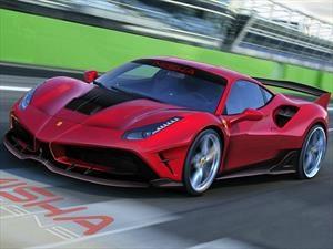 Ferrari 488 GTB por Misha Designs debuta