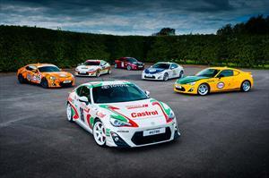 Toyota le rinde tributo su historia con el GT86