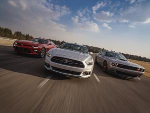 Prueba: Ford Mustang vs Chevrolet Camaro vs Dodge Challenger
