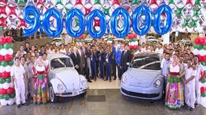 Volkswagen México alcanza 9 millones de vehículos producidos