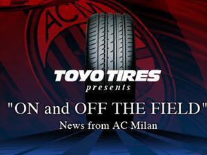 Toyo Tires, gran aliado del AC Milan