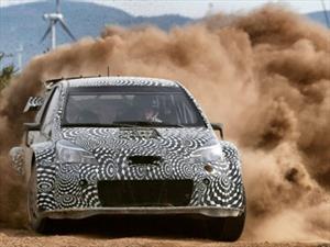 WRC: El Toyota Yaris suma kilómetros