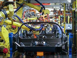 La planta del Chevrolet Corvette estrena taller de pintura