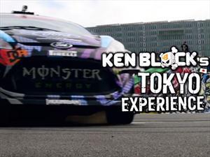 Video: Ken Block lleva el Gymkhana a Tokio