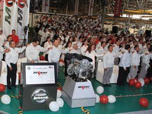 Nissan produce su motor 9 millones en México