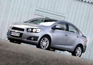 El Chevrolet Sonic alcanzaron las 5 estrellas del EuroNCAP