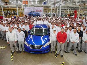 Nissan produce 300,000 unidades en Aguascalientes 2