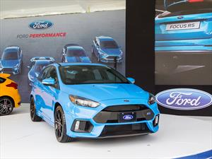 Ford Focus RS 2016 se presenta
