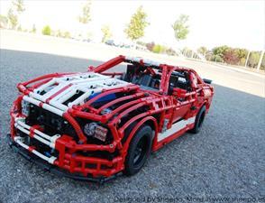 Mustang Shelby de Lego, más sofisticado que muchos coches reales