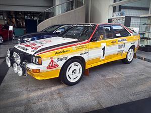 El mítico Audi quattro A2 del Grupo B estará en el Salón de Buenos Aires
