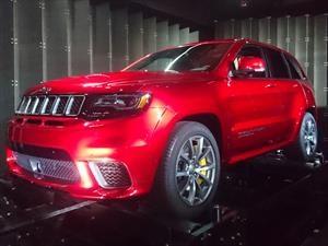 Jeep Grand Cherokee Trackhawk 2018, poder demoniaco