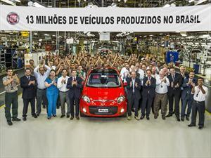 FIAT Brasil llega a los 13 millones de vehículos producidos
