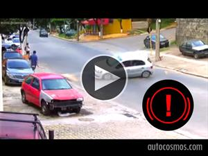 Video: Esto pasa cuando no se respeta la velocidad máxima en la ciudad
