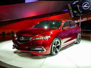 Acura TLX 2015 debuta en el NAIAS
