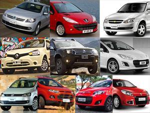 Top 10 los autos más vendidos en enero de 2013