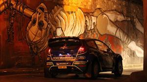 Solberg domina la primera etapa en el Rally México 2012