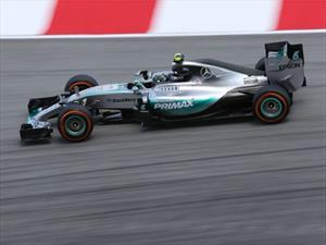 F1: Rosberg y Mercedes imparables en España