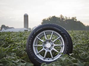 Goodyear usa caucho elaborado con aceite de soya para producir sus neumáticos