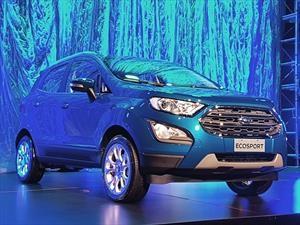 Ford Ecosport 2018 muestra su actualización para América Latina
