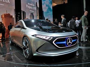 Mercedes-Benz EQA Concept, un nuevo eléctrico se aproxima