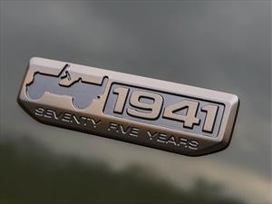 Ediciones especiales para celebrar los 75 años de vida de Jeep