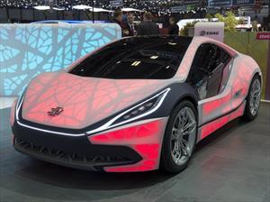 EDAG Light Cocoon Concept, un auto con carrocería traslúcida