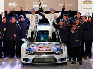 WRC: Volkswagen se lleva la victoria en Suecia