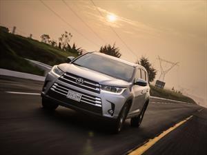 Toyota Highlander 2017 a prueba