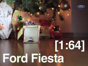 Video: Snowkhana, un Ford Fiesta de juguete haciendo drift