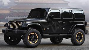 Jeep Wrangler Dragon Design Concept en el Salón de Beijing 2012
