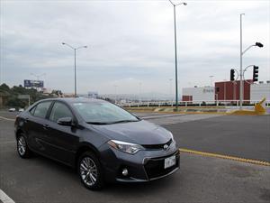 Toyota Corolla 2014 a prueba en México